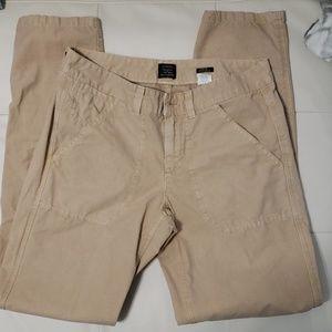 J. Crew 100% cotton fit city pants